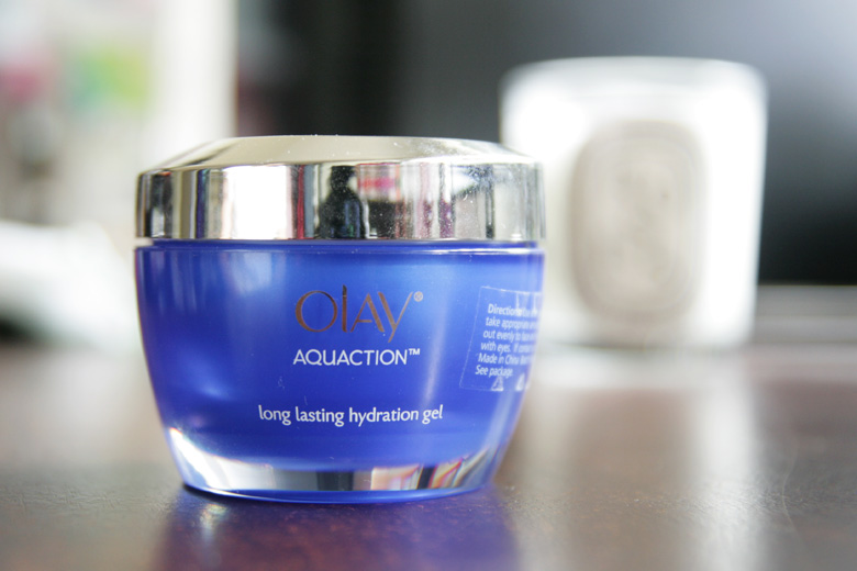 Olay Aqua Action Long Lasting Hydration Gel: A New Blue Discovery!
