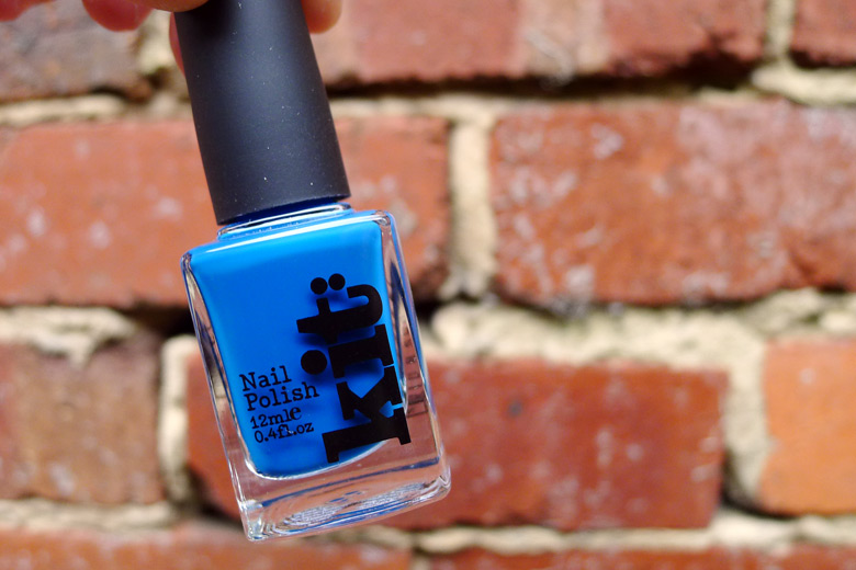 Nailing It: Kit Cosmetics Nail Polish in Teal Appeal