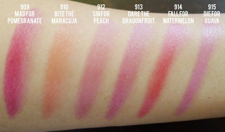 L'Oreal Glam Shine Balmy Gloss Swatches