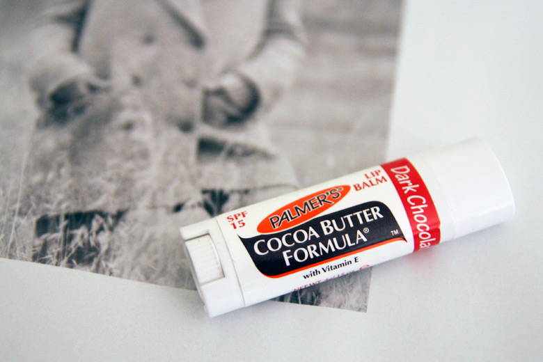 Quickie Mention: Palmer's Ultra Moisturising Lip Balm in Dark Chocolate and Cherry