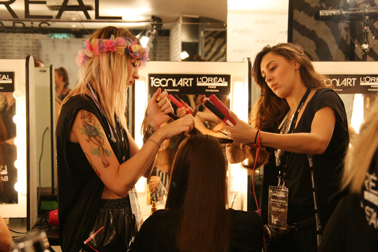 VAMFF 2014: Backstage for the David Jones Opening Night
