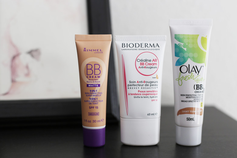 BB Creamlogy: Olay Fresh Effects, Bioderma Crealine and Rimmel