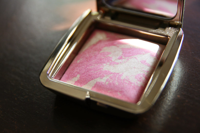 Giving My Cheeks A Lumnious Flush with Hourglass' Ambient Lighting Blush
