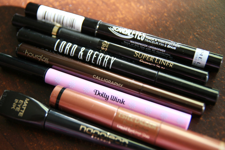 My Favourite Liquid Eyeliners