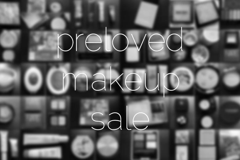 Preloved Makeup Sale for Beyond Blue