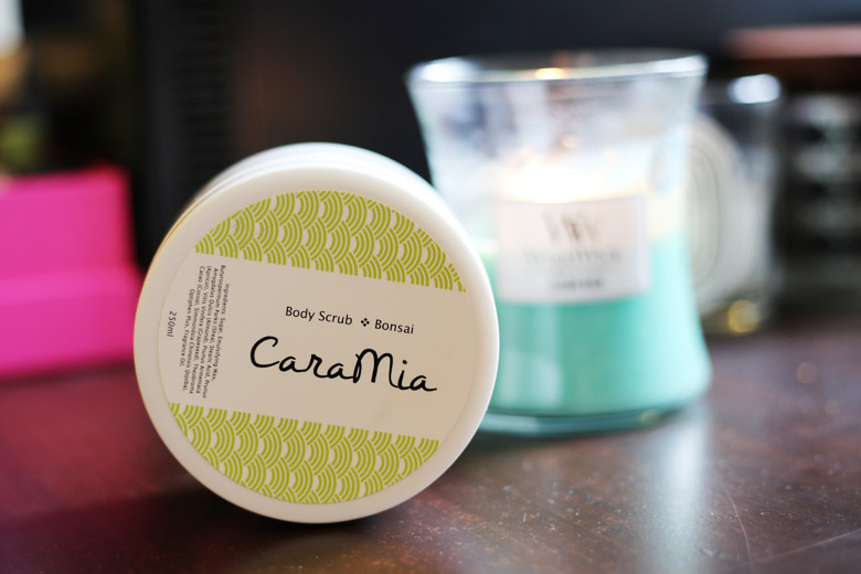Scrub A Dub Dub! Away With That Grubby Skin with Cara Mia's Body Scrub in Bonsai