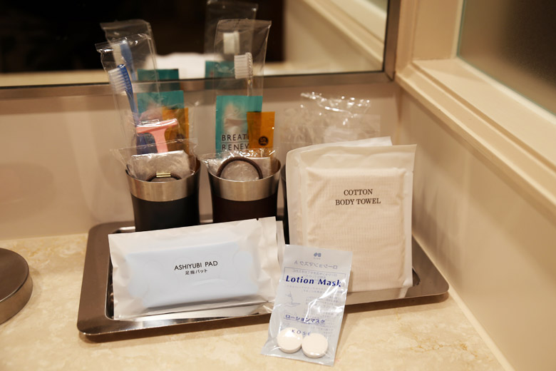 Complimentary Hotel Toiletries