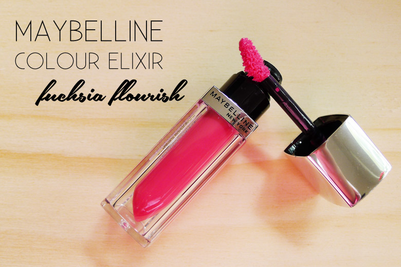 Read My Lips: Maybelline Colour Sensational Colour Elixir in Fuchsia Flourish