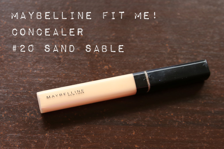 Maybelline Fit Me! Concealer in 20 Sand Sable