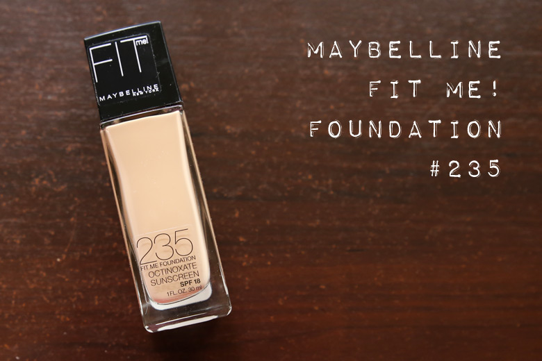 Maybelline Fit Me Foundation in 235