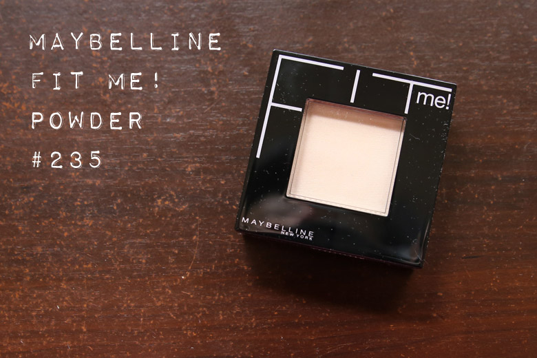 Maybelline Fit Me Pressed Powder in 235