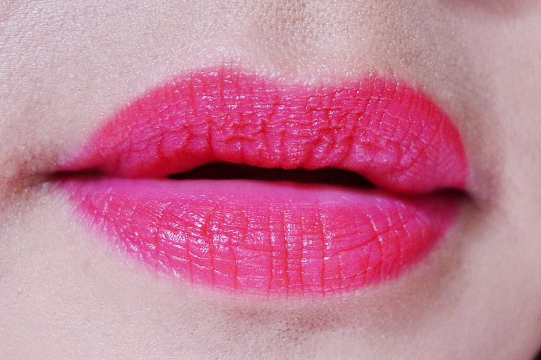 Bourjois Rouge Edition Velvet in Ole Flamingo