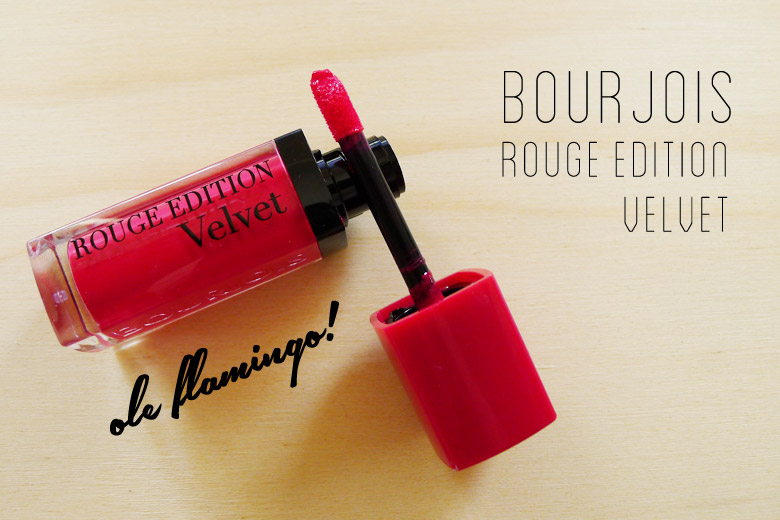 Read My Lips: Bourjois Rouge Edition Velvet in Ole Flamingo
