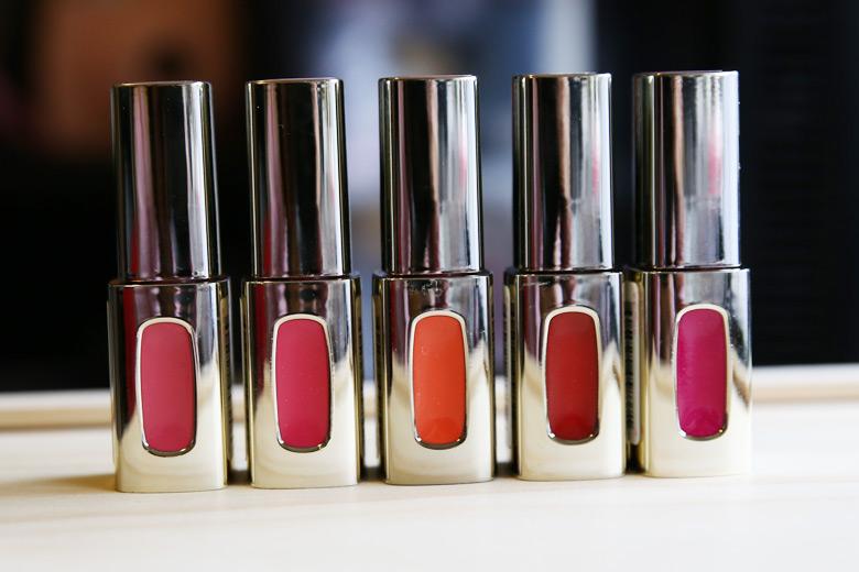 loreal color riche extraordinaire lip lacquers - Gloss Color L Oral Professionnel