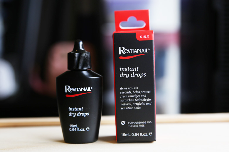 Nailing It But Not Really: Revitanail Instant Dry Drops