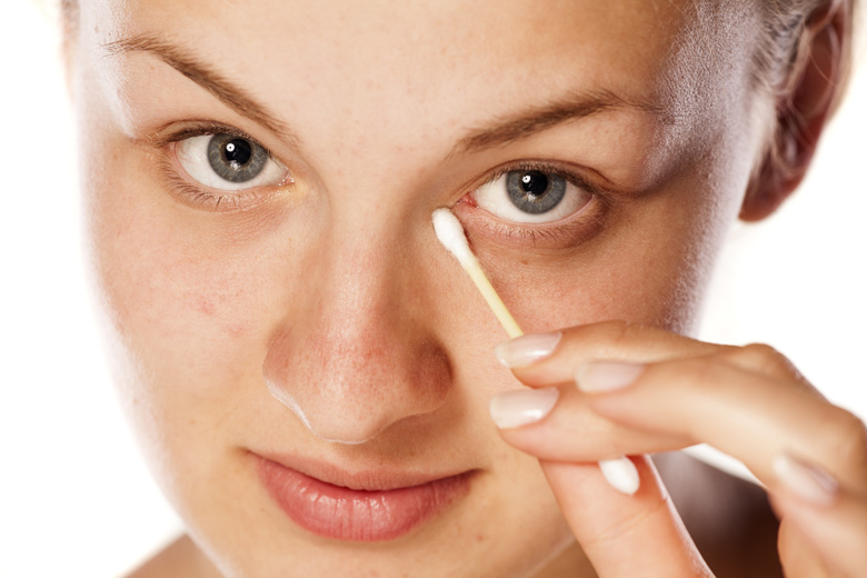Clear Out Your Eye Booger After Eye Makeup Removal