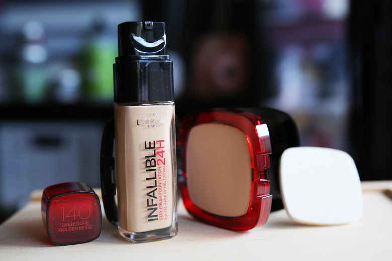 L'Oreal Paris Infallible 24H Foundations: 24 Hour Hold Claims Aside, They're Pretty Darn Good!
