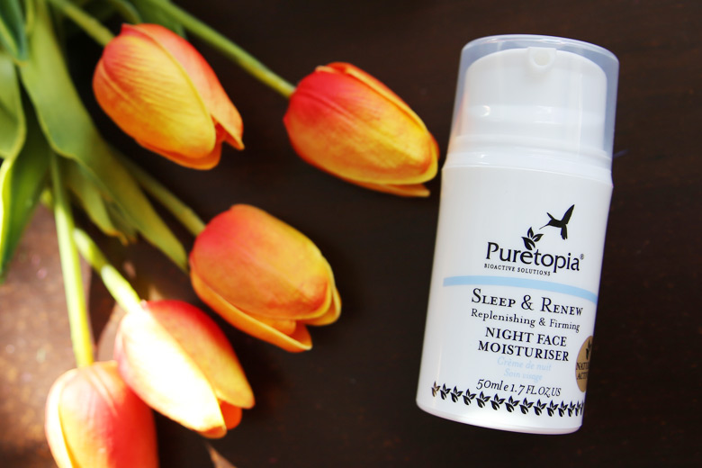 Let Your Skin Sleep Well With Puretopia's Sleep and Renew Night Face Moisturiser