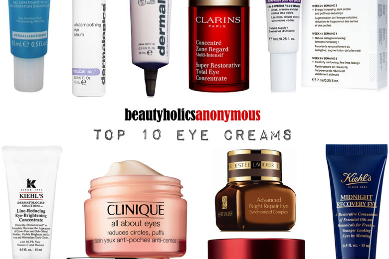Week of Skincare Favourites 2014: My Top 10 Eye Creams