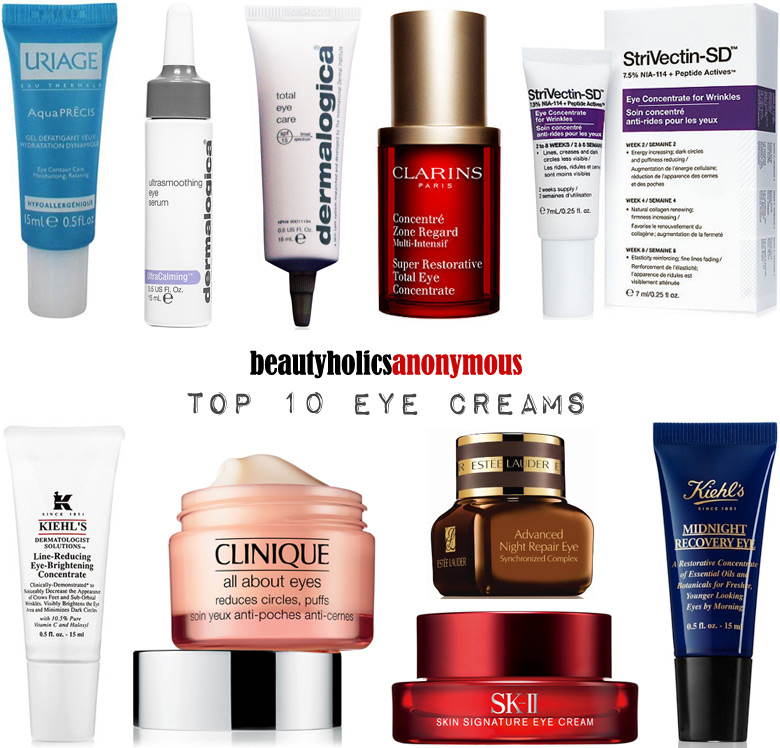 Week of Skincare Favourites 2014: My Top 10 Eye Creams