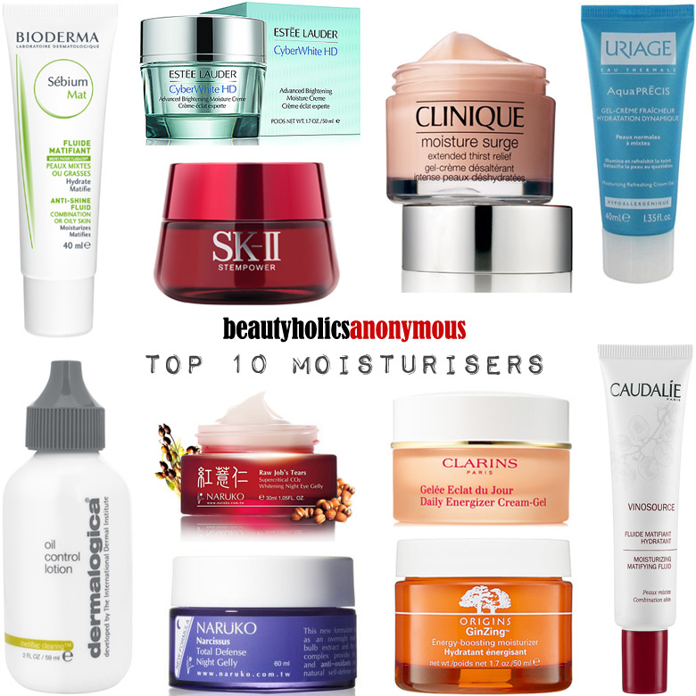 Week of Skincare Favourites 2014: My Top 10 Moisturisers