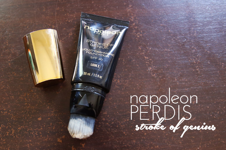 Napoleon Perdis Stroke of Genius Liquid Cashmere Foundation: Hate The Brush, Love the Foundation