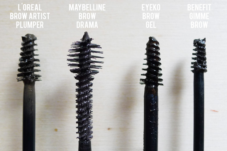 Battle Of The Tinted Brow Gels Featuring Loreal Maybelline