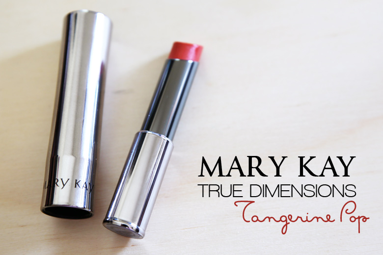 Read My Lips: Mary Kay True Dimensions Lipstick in Tangerine Pop