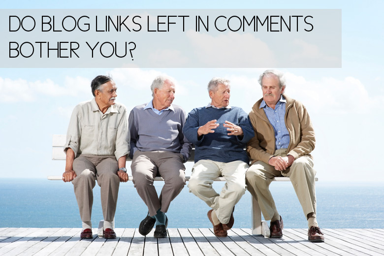 Bloggie Wednesday: Do Blog Links Left In Comments Bother You?