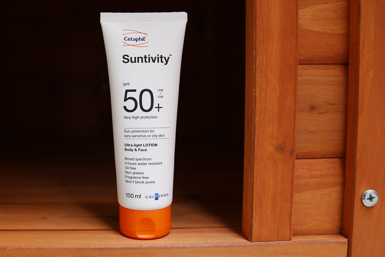 Try Out A New Sunscreen This Summer with Cetaphil's Suntivity SPF50+ Ultra-Light Lotion for Body and Face