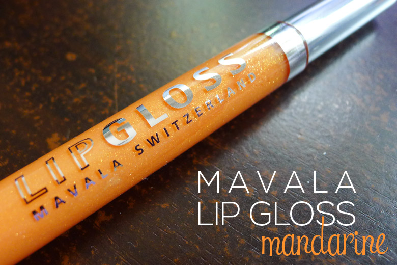 Read My Lips: Mavala Lip Gloss in Mandarine