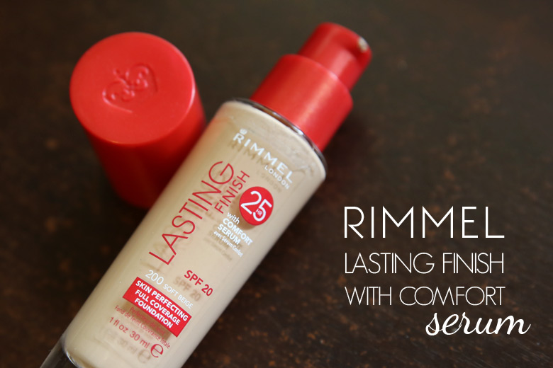 Rimmel Lasting Finish with Comfort Serum Skin Perfecting Full Coverage Foundation: Gee, This Seems Awfully Familiar!