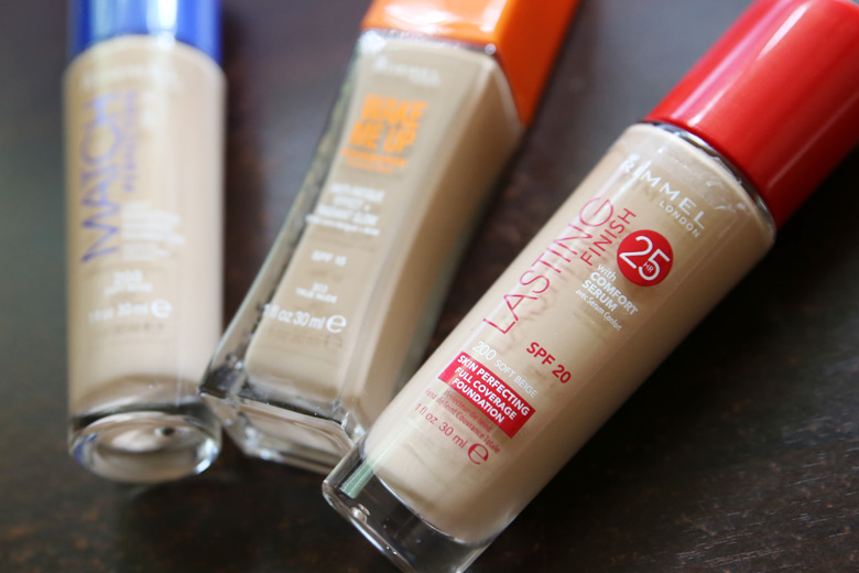 Rimmel Lasting Finish with Comfort Serum Skin Perfecting Full Coverage Foundation