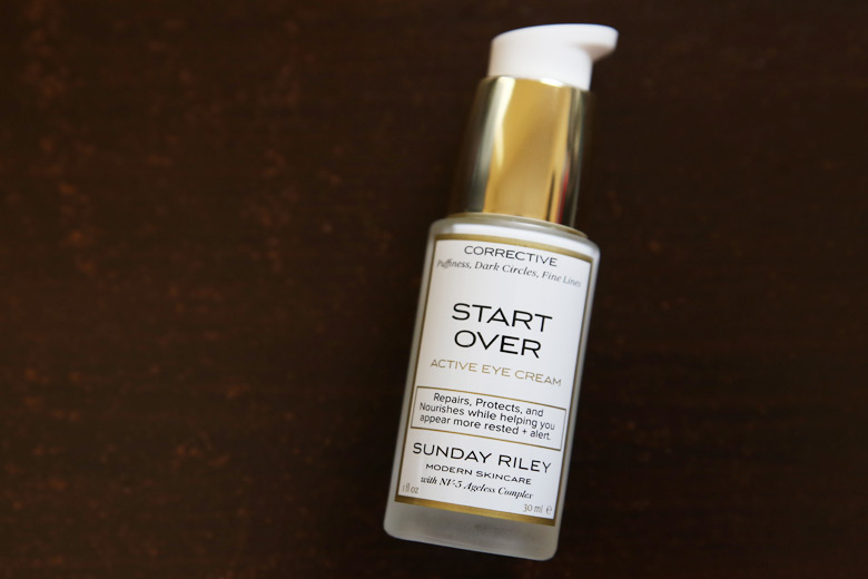 Give Your Eyecare Some Oomph With Sunday's Riley Start Over Active Eye Cream
