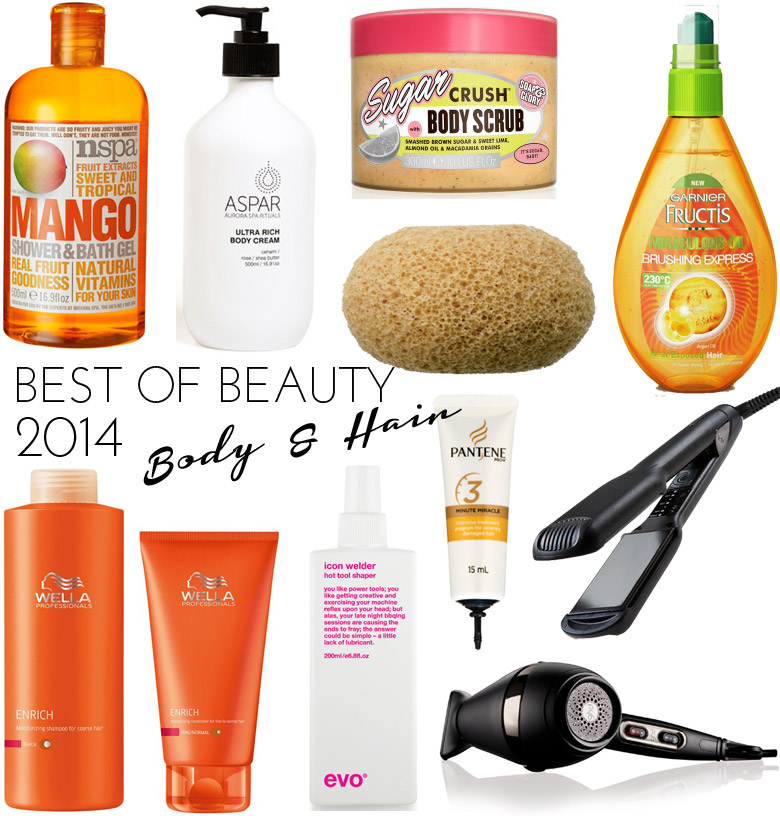 Best of Beauty 2014 - Body and Hair