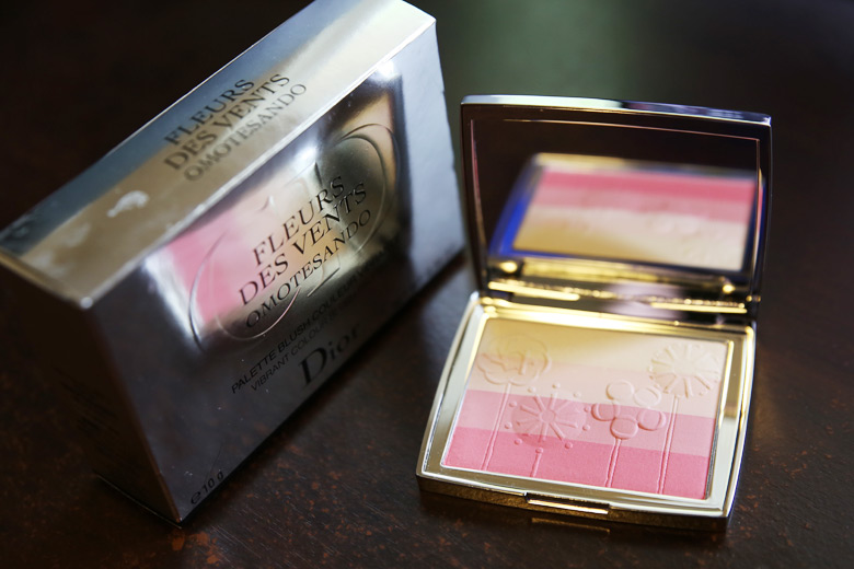 Oh The Beauty That Is The Dior Fleur de Vents Omotesando Blush!