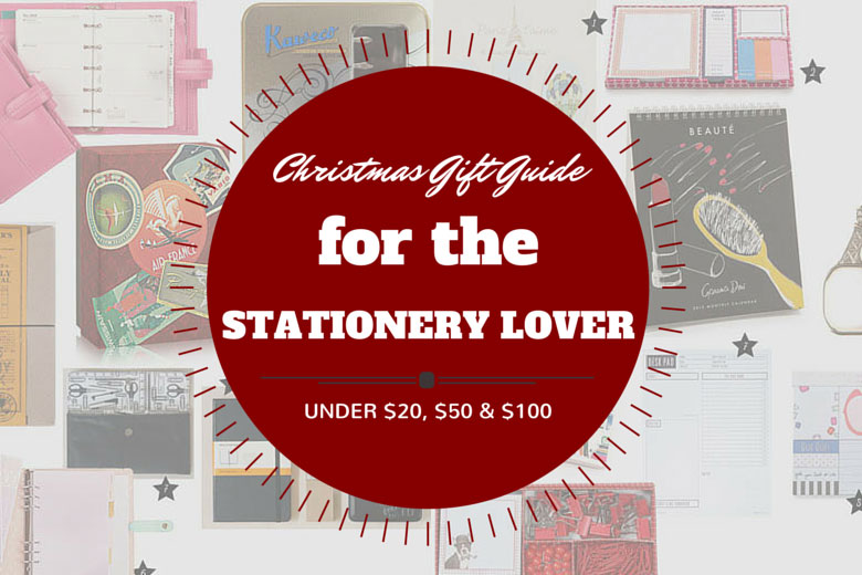 Christmas Gift Guide 2014: For The Stationery Lover