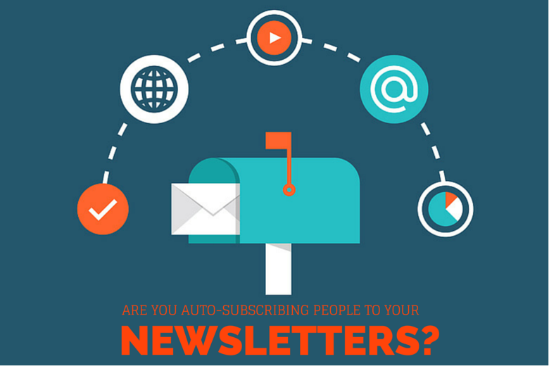 Bloggie Wednesday: Auto-Subscribing People To Your Newsletters