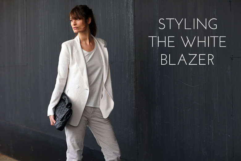 How To Style The White Blazer
