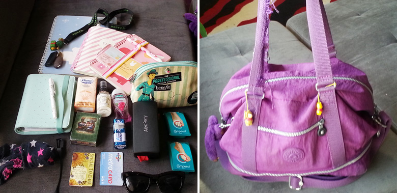 What's In My Reader's Bag (Hilary @ Send Us Down Under)