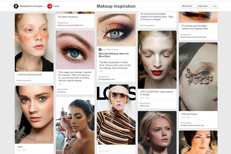 Pinterest Board Makeup Inspiration
