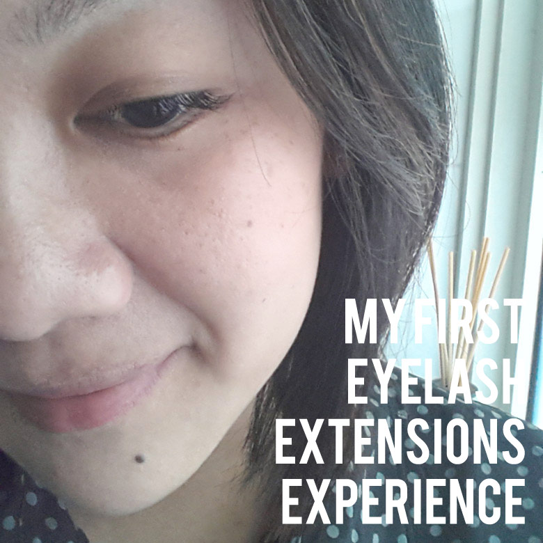 My First Eyelash Extensions by Shizuka