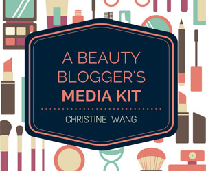 A Beauty Blogger's Media Kit - The Ebook