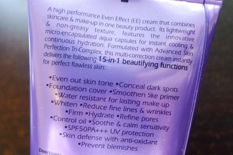Clinelle Miracle Aqua Capsule EE Even Effect Cream Description