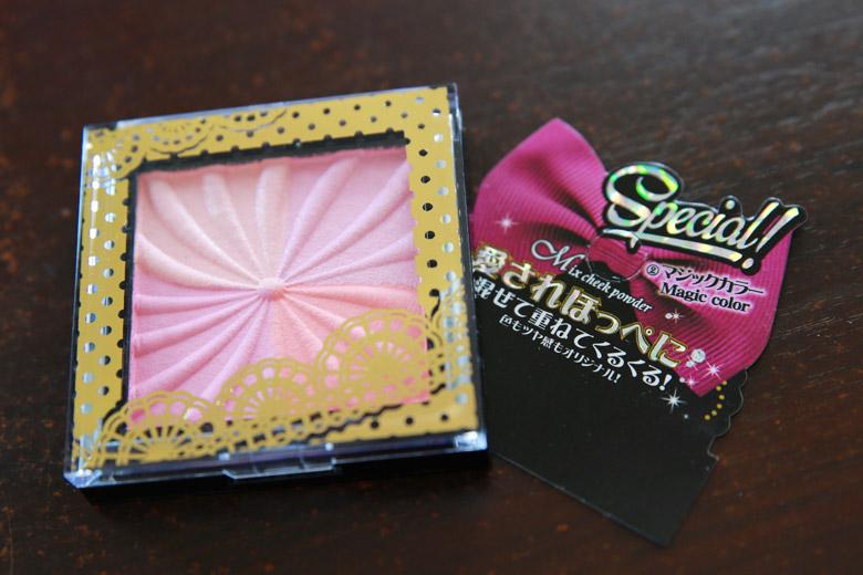 Daiso Mix Cheek Powder in Magic Colour