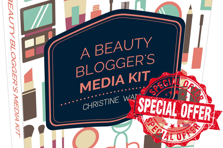 "My Newly Revamped And Updated ""A Beauty Blogger's Media Kit"" Ebook Is Finally Here!"