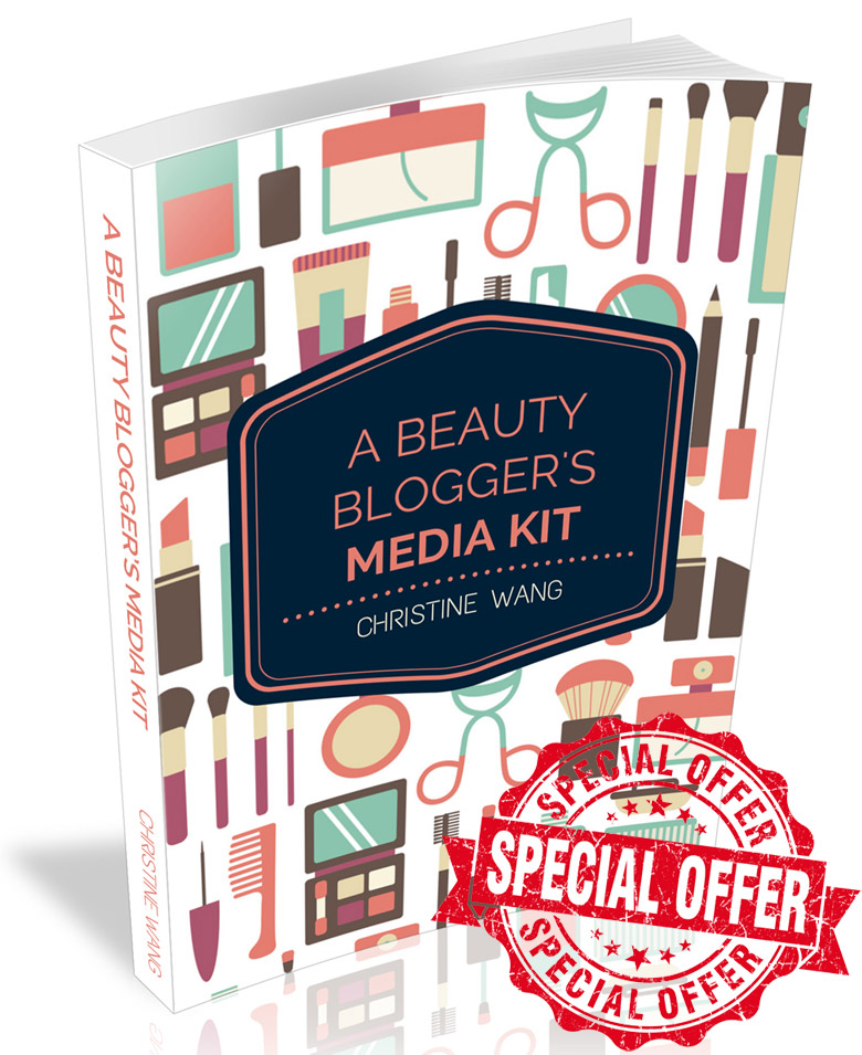 A Beauty Blogger's Media Kit Ebook Special Offer