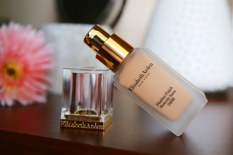 Get That Flawlessly Finished Skin with Elizabeth Arden's Flawless Finish Perfectly Satin 24Hr Foundation