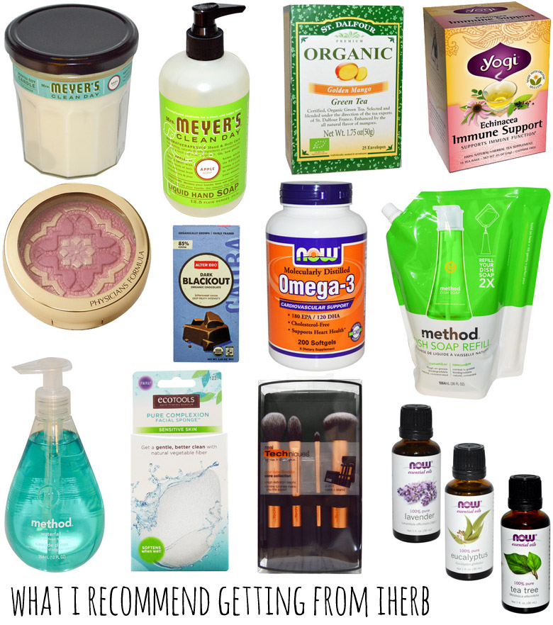 What I recommend getting from iHerb