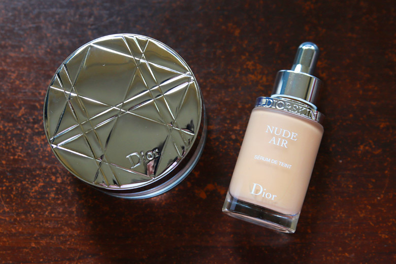 Dior Nude Air Serum de Teint and Healthy Invisible Glow Loose Powder
